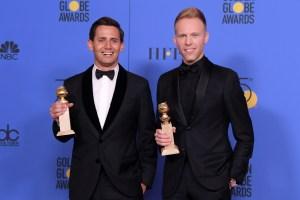 Benj Pasek Justin Paul Golden Globes