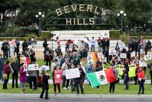 Donald Trump Los Angeles Protest