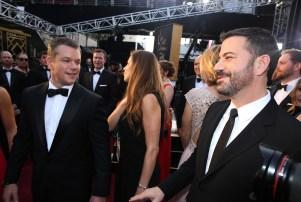 Matt Damon Jimmy Kimmel