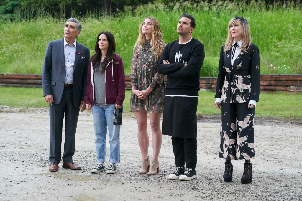 'Schitt's Creek', Basking In Emmy Glow, To Launch In Broadcast Syndication Next Week