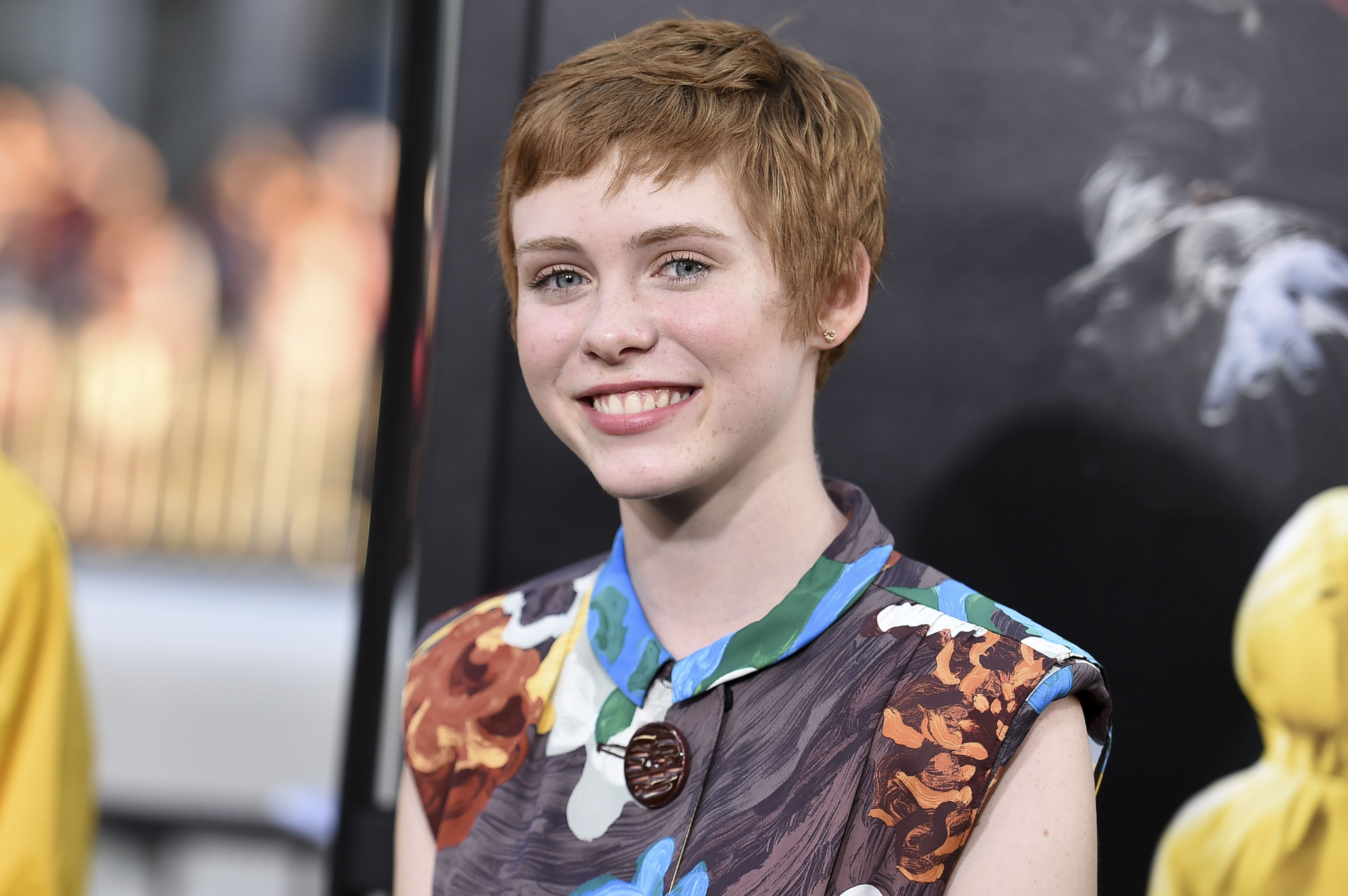 "Mandatory Credit: Photo by Invision/AP/REX/Shutterstock (9040651b) Sophia Lillis attends the LA Premiere of ""It"" at the TCL Chinese Theatre, in Los Angeles LA Premiere of ""It"", Los Angeles, USA - 05 Sep 2017"