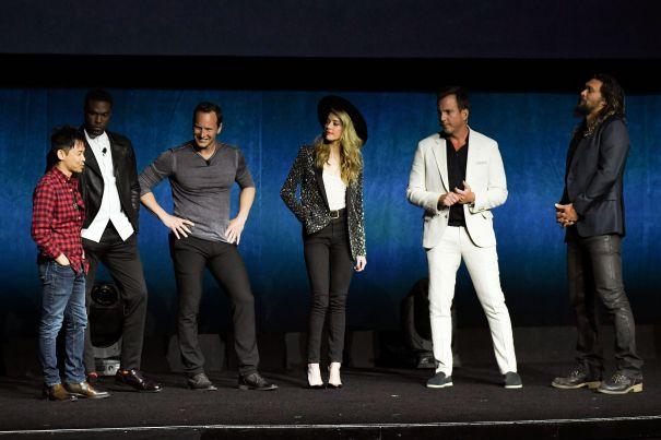 Aquaman CinemaCon 2018