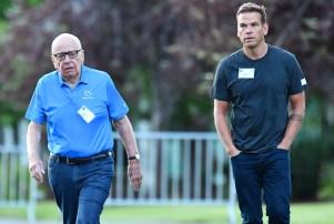 Rupert Murdoch Lachlan Murdoch