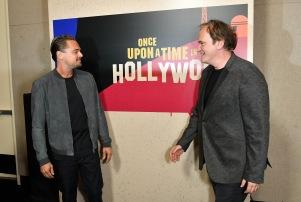 Leonardo DiCaprio Quentin Tarantino