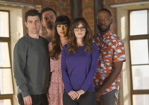 'New Girl' Stars Zooey Deschanel, Lamorne Morris & More  Reunite For Spunky Voting PSA