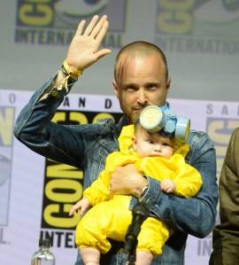 Aaron Paul Breaking Bad Comic-Con