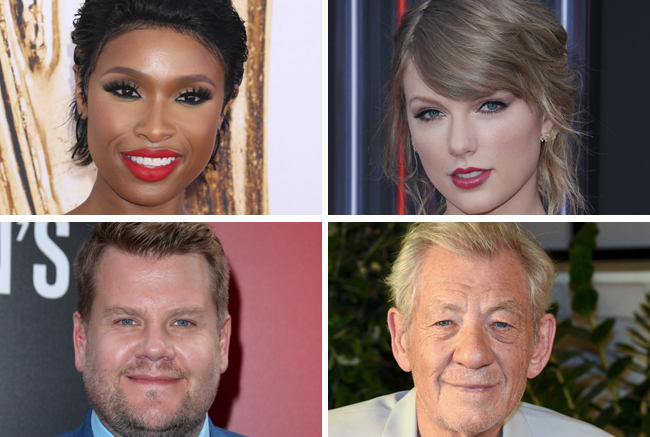 Jennifer Hudson, Taylor Swift, James Corden & Ian McKellen Join ...
