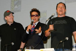 Iron Man Kevin Feige Robert Downey Jr Jon Favreau
