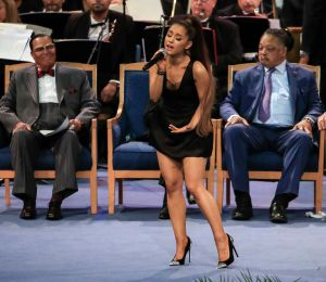 Ariana Grande Aretha Franklin