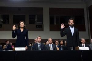 Facebook Twitter Senate