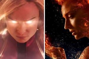 Captain Marvel X-Men Dark Phoenix