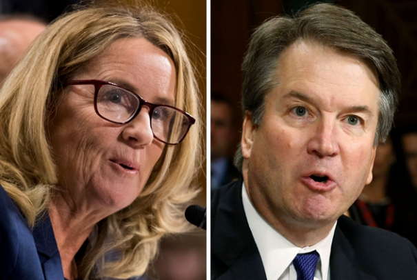 Christine Blasey Ford Brett Kavanaugh