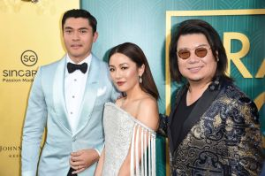 Crazy Rich Asians Henry Golding, Constance Wu, Kevin Kwan