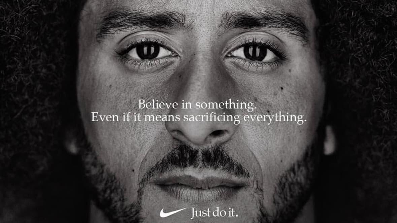 Controversial Colin Kaepernick Nike