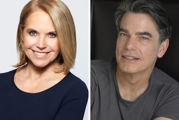 Katie Couric Peter Gallagher