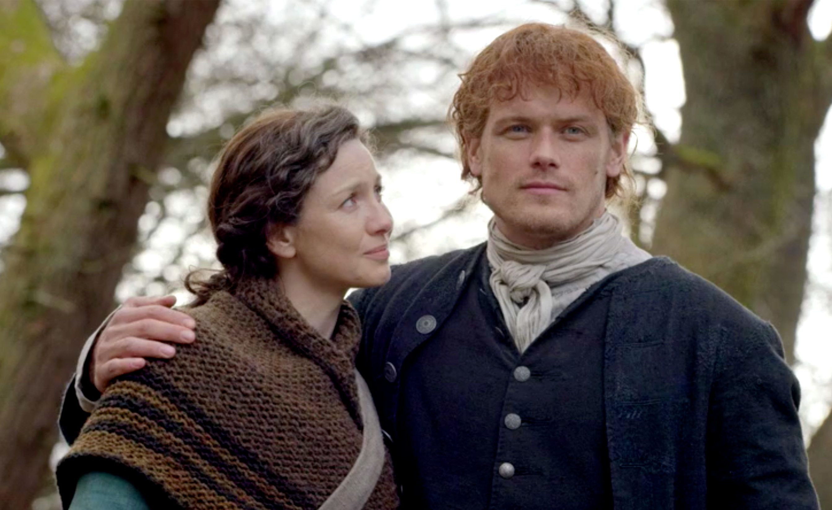 Outlander Cast Eps On Season 4 With The Brave New World Of America Comes A Tough Aunt Paleyfest Ny Deadline