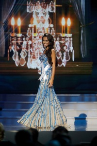 Mandatory Credit: Photo by Gerald Herbert/AP/REX/Shutterstock (6126147ck) Miss New Jersey USA Emily Shah Miss New Jersey USA Emily Shah participates in the evening gown competition during the 2014 Miss USA preliminary competition in Baton Rouge, La Miss USA 2014, Baton Rouge, USA