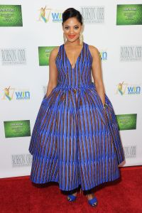 Mandatory Credit: Photo by Richard Shotwell/Invision/AP/REX/Shutterstock (9195367d) Nzingha Stewart arrives at the 17th Annual Women's Image Awards held at Royce Hall on Wednesday, Feb.10, 2016, in Los Angeles 17th Annual Women's Image Awards, Los Angeles, USA - 11 Feb 2016