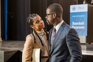 This Is Us Susan Kelechi Watson and Sterling K. Brown