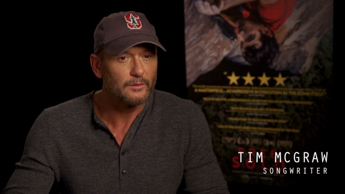 [WATCH] 'Free Solo's Tim McGraw Discusses