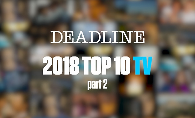 2018 Top 10 TV Shows
