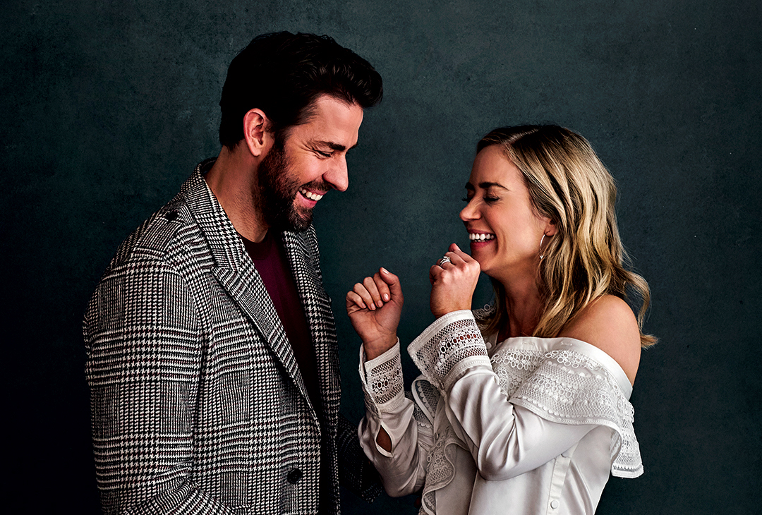 John Krasinski Emily Blunt On A Quiet Place Collaboration Q A Deadline