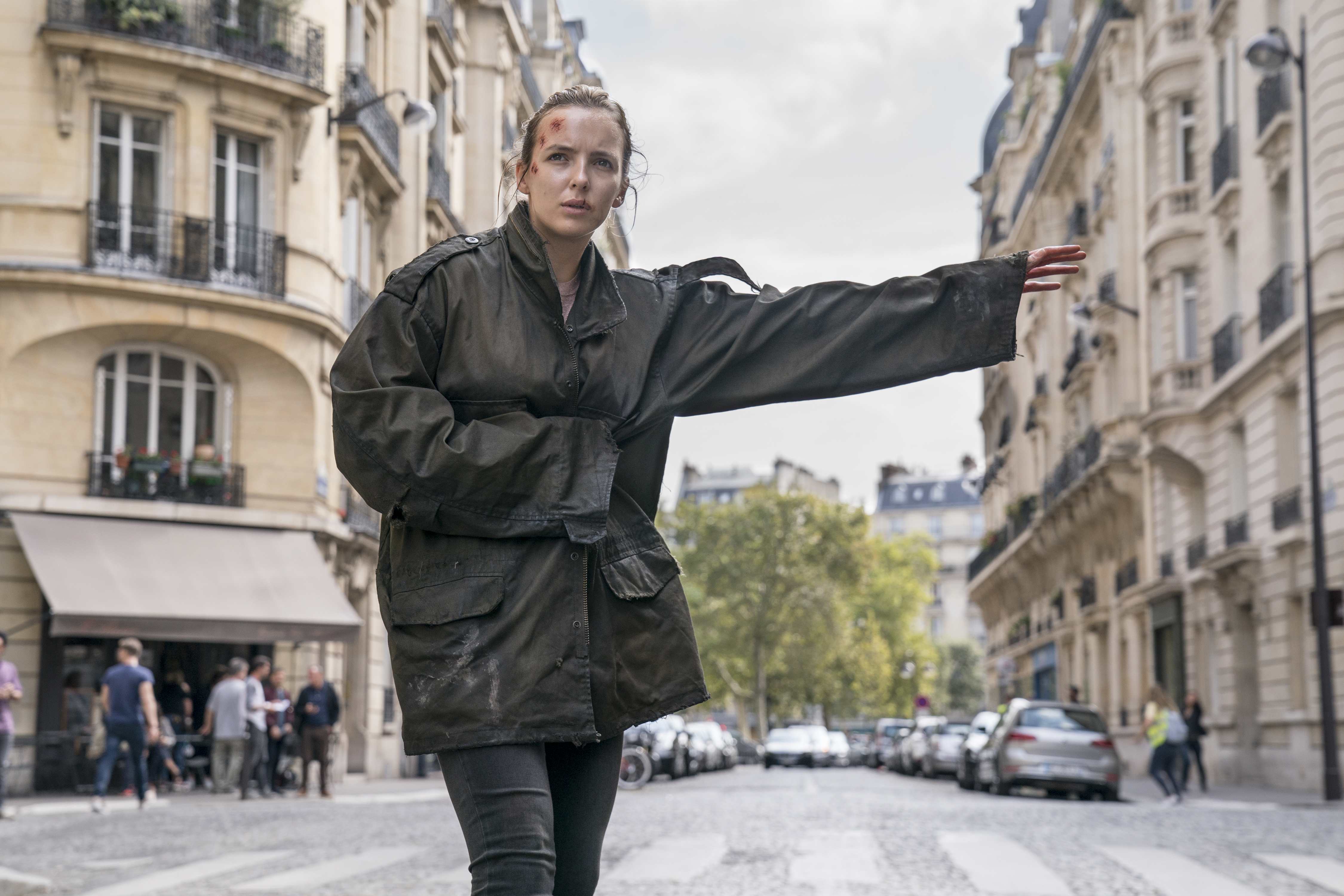 Jodie Comer as Villanelle- Killing Eve _ Season 2, Episode 1 - Photo Credit: Aimee Spinks/BBCAmerica