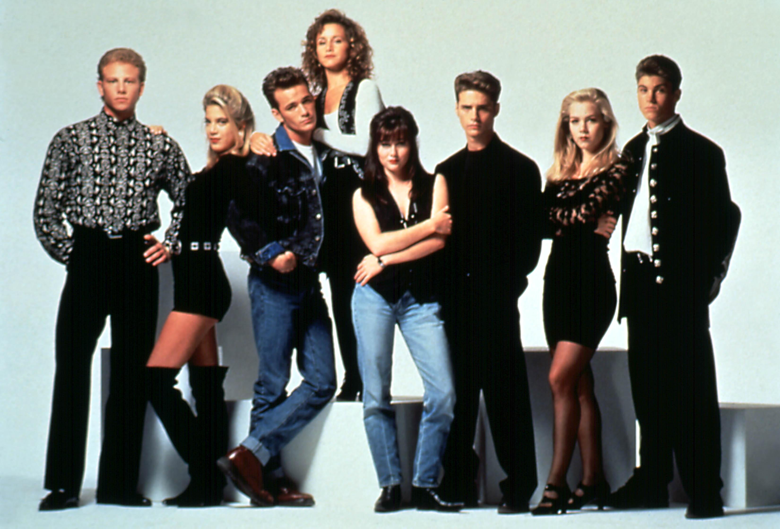 Beverly hills cast 90210 Jessica Alba
