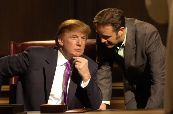 Donald Trump The Apprentice Mark Burnett