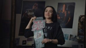 Florence Pugh in 'Fighting with My Family'