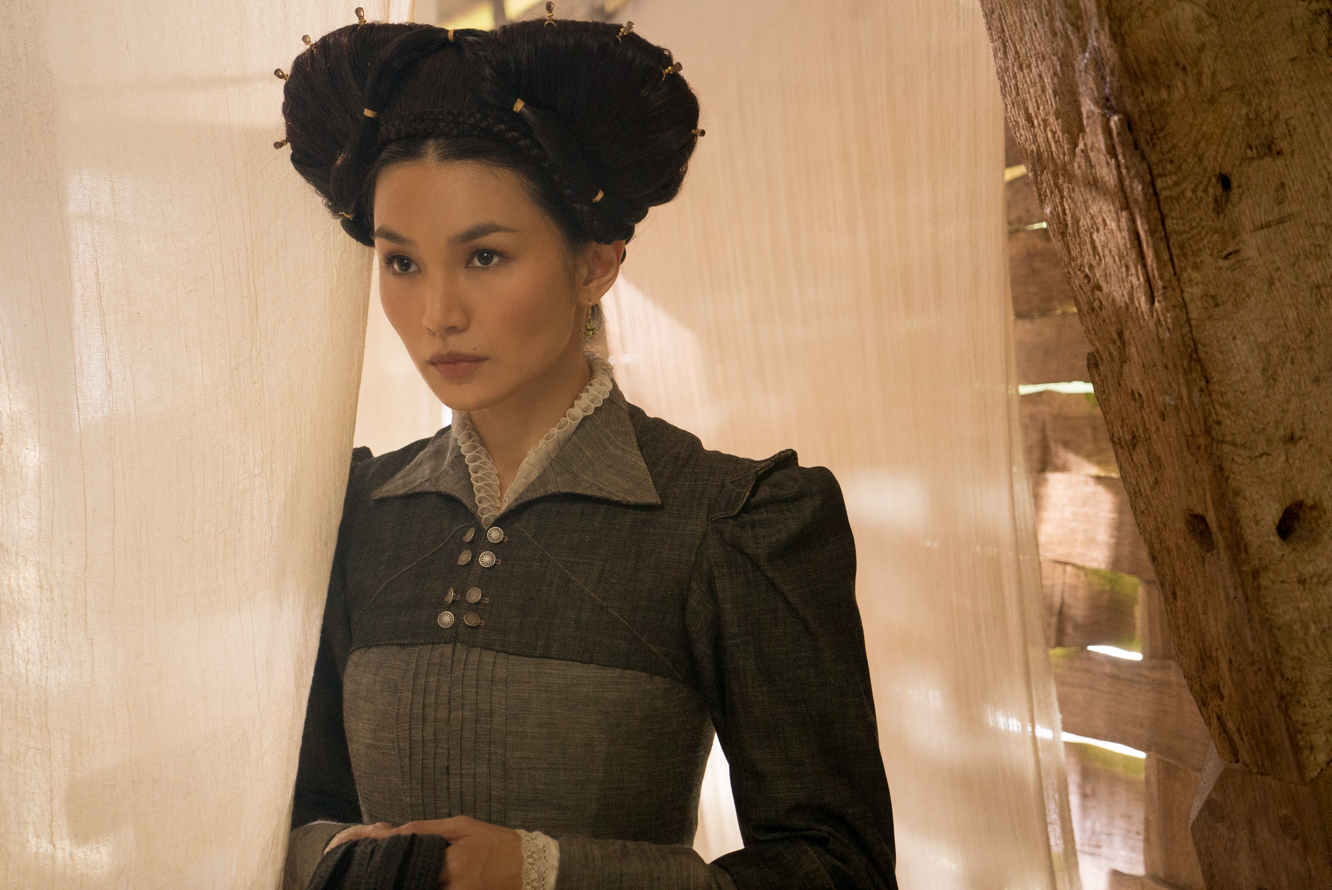 Gemma Chan MARY QUEEN OF SCOTS