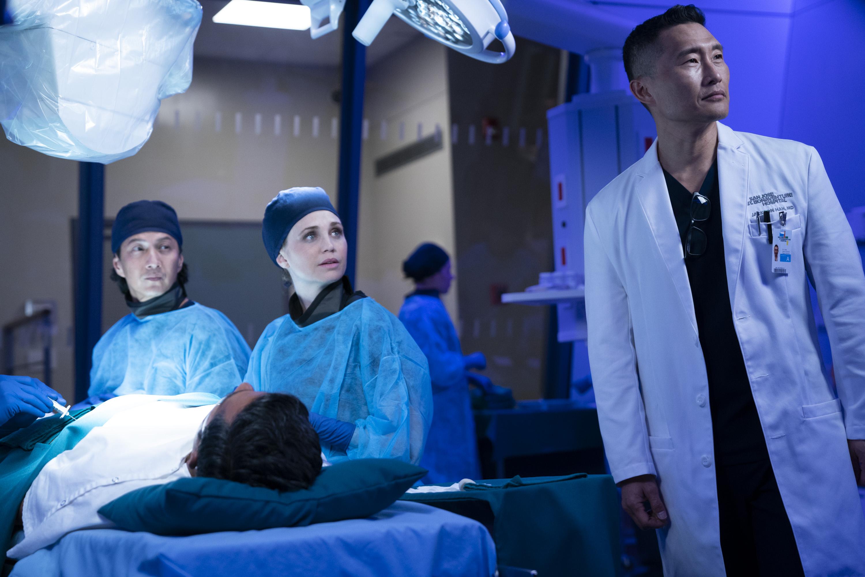 "THE GOOD DOCTOR - ""Episode 215"" (ABC/David Bukach) WILL YUN LEE, FIONA GUBELMANN, DANIEL DAE KIM"