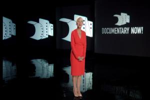 """Helen Mirren hosts """"Documentary Now!"""" (Credit: IFC)"""