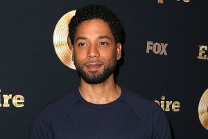 "LOS ANGELES, CA - March 20: Jussie Smollett, At Spring Premiere Of FOX's ""Empire"" At The Pacific Theatres at The Grove In California on March 20, 2017. Credit: FS/MediaPunch /IPX"