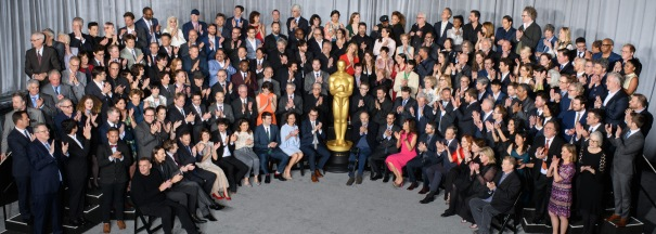 Oscar Nominees Luncheon Clapping
