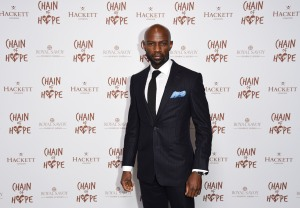Mandatory Credit: Photo by REX/Shutterstock (9982459s) David Gyasi Chain of Hope Gala Ball, London, UK - 16 Nov 2018