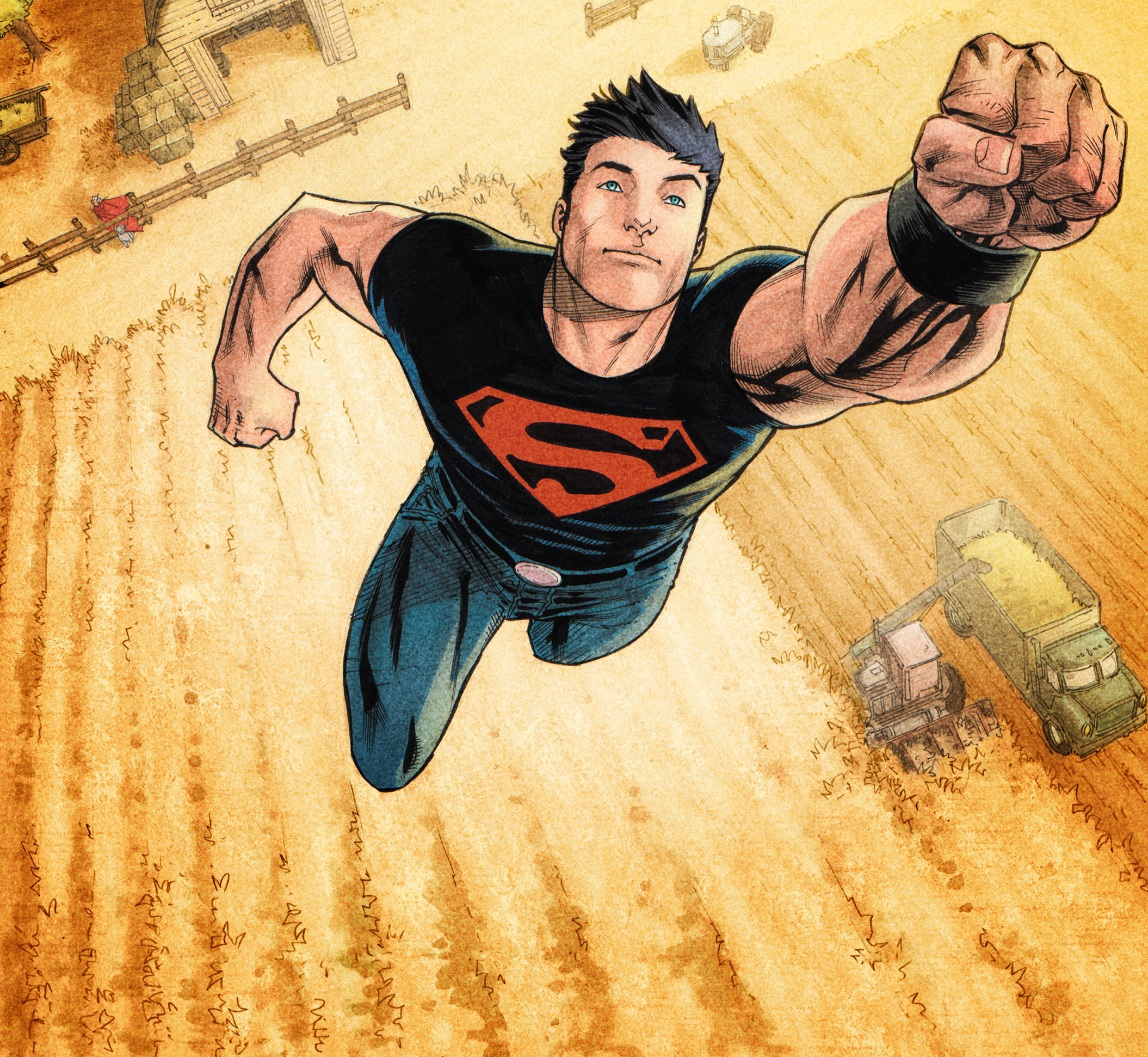 Dc S Titans Finds Its Superboy Joshua Orpin To Portray Conner Kent Deadline The gang is back to discuss episode 6 of dc universe's titans season 2, which features the debut of joshua orpin's conner kent, aka superboy. joshua orpin to portray conner kent