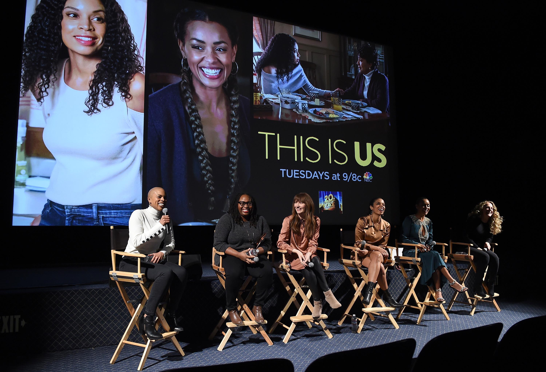 """This Is Us"" Writer Eboni Freeman, Co-Producer Kay Oyegun, Executive Producer Elizabeth Berger, stars Susan Kelechi Watson and Melanie Liburd and Director Anne Fletcher"
