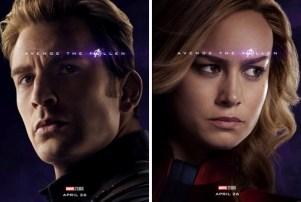 Avengers Endgame Captain America Captain Marvel