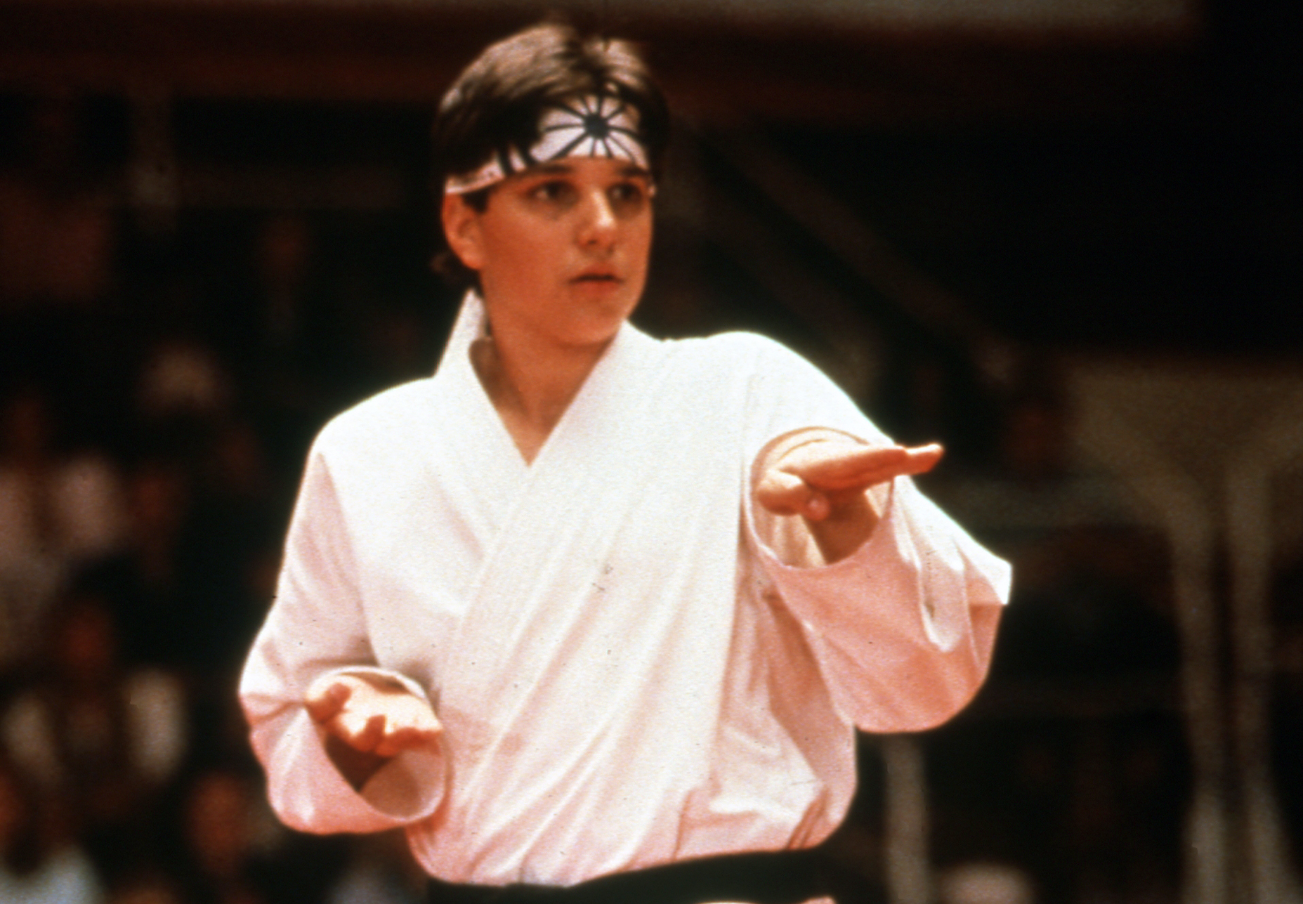 'Cobra Kai' Actor Ralph Macchio Salutes NHL's Washington Capitals Homage