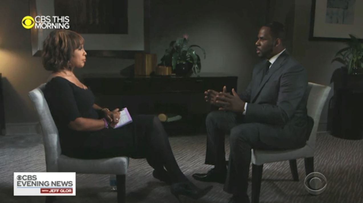 Watch R Kelly To Cbs Gayle King When You Beat Your Case You Beat Your Case Deadline
