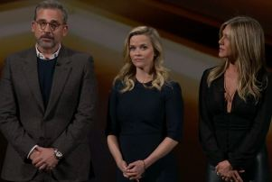 Steve Carell Reese Witherspoon Jennifer Aniston