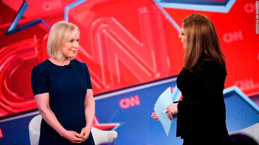 Viewers Vote No On Kirsten Gillibrand With Cnn Town Hall Ratings Deadline