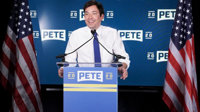 "Jimmy Fallon: Pete Buttigieg The ""Avocado"