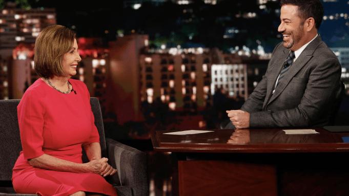 Nancy Pelosi To Jimmy Kimmel: Trump