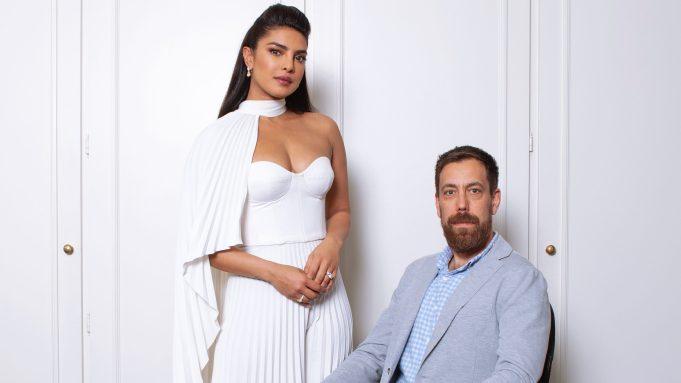 Priyanka Chopra Jonas and Dan Krauss