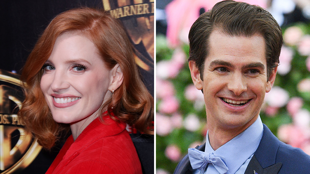Andrew Garfield Joins Jessica Chastain In 'The Eyes of Tammy Faye' –  Deadline