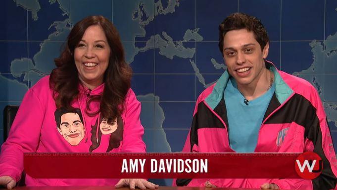 Pete Davidson Mom SNL