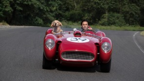 "L-R: ""Enzo"" and Milo Ventimiglia in Twentieth Century Fox's, THE ART OF RACING IN THE RAIN"