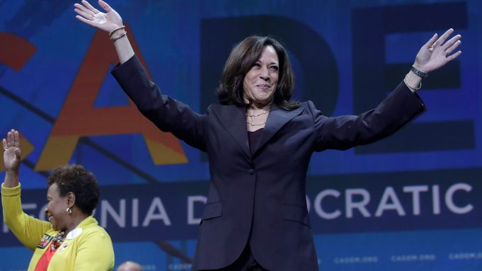Kamala Harris Appearance Interrupted By Protester Who Grabbed Microphone Deadline
